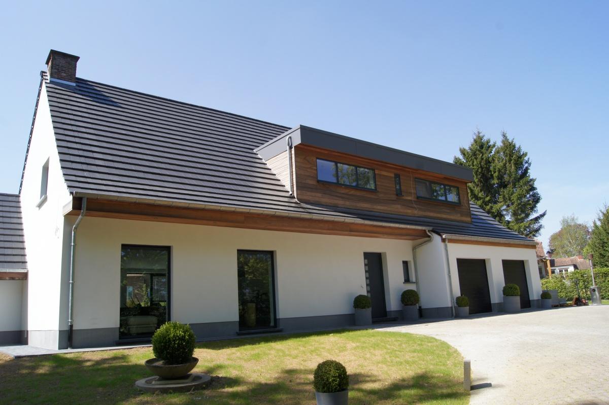 Luckx ramen deuren op maat van uw profiel for Huis voor na exterieur renovaties